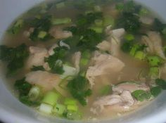 Cambodian lemon chicken soup Cambodian Food, Cambodian Recipes, Yummy Asian Food, Lemon Chicken, Chicken Soup, Lemon Soup, Rice Recipes, Asian Recipes, Soup Recipes