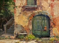 The Door by Kathryn Stats - Greenhouse Gallery of Fine Art