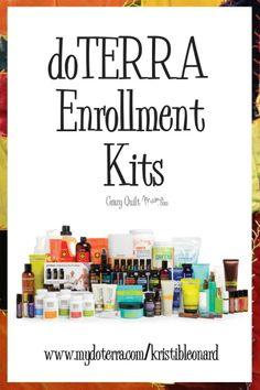 doTERRA Enrollment Kits - Crazy Quilt Mama