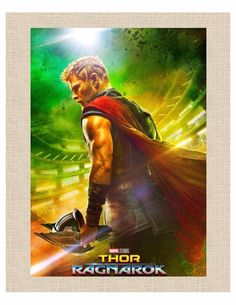 "Thor Ragnarok Movie Screenshot 8""x10"" Desk Size Poster for Limited Display Space"
