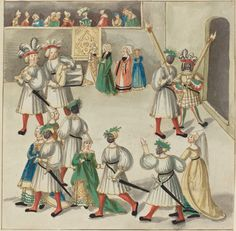 Masquerade, c. 1515 Rosenwald Collection 1943.3.4407 Open Access