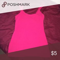 Express pink tank size XS Great condition, 95% cotton and 5% spandex Express Tops Tank Tops