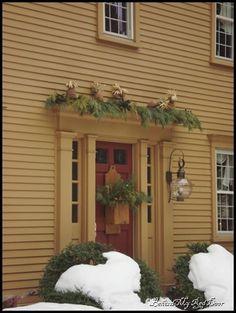 neat front door idea