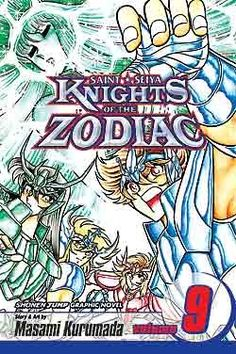 Knights of the Zodiac (Saint Seiya), Volume 9: For the Sake of Our Goddess -Masami Kurumada
