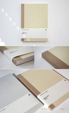 소재와 기능의 본질 백상점 essence of the materials and function. / free year diary beige