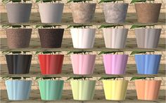 Hello. When I saw these stunning flowers at Simply Styling , I couldn´t resist  ask for permission to convert them into The Sims 2 . I was so excited when I got a message that I can do it. I decided to make some little changes, like switch the pots and make several mesh edits. Every…