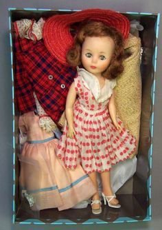 """Super 10 1/2 inch """"Toni"""" by American Character Dolls, 1958"""