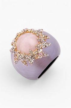 Alexis Bittar 'Dark Gardens' Pink Rosy Ring