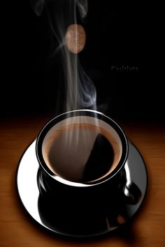 Morning Coffee Images, Good Morning Coffee Gif, Good Morning Flowers Gif, Good Morning Good Night, Coffee Love, Coffee Art, Coffee Break, Hot Chocolate Gif, Bolacha Cookies