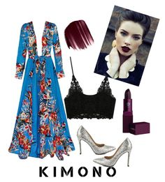 """kimono look"" by anjana-akanksha on Polyvore featuring Penny Loves Kenny, Urban Decay, Lipstick Queen and kimonos"