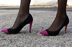 Chaqueta, Fajín, Falda-Pantalón y Top Oh My Looks5 #fetishpantyhose #pantyhosefetish #legs #heels #blogger #stiletto #pantyhose #black