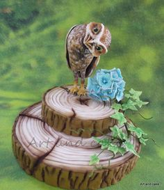 Sweet Owl - Cake by marja