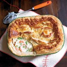 Smoked fish and cider pie recipe. Try this variation on the traditional fish pie with smoked fish and cider and a puff pastry lid.