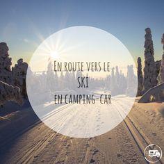 Le #campingcar est un moyen, certes original pour aller skier, mais avant tout super #pratique ! #ski Stations De Ski, Skier, Camping Car, Van Life, Circuit, Movie Posters, Snow Falls, Film Poster, Film Posters