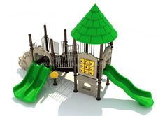 Noahs Park and Playgrounds - Newport Bay Structure, Need a playground that'll fit your small area? Check out the Newport Bay Structure! This ADA Accessible play unit will be the envy of all playgrounds. It's tropical theme and enjoyable features is sure to get your school-aged kids excited. (http://www.noahsplay.com/ada-equipment/ada-structures/newport-bay-structure/)