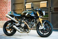 """flightbulb:  Custom '06 Ducati Sport 1000  """