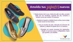 Estos son algunos consejos que te ayudarán a moldear tus zapatos nuevos para que se adapten a tus pies.