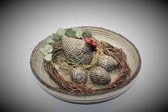 Keramik - reine Handarbeit Serving Bowls, Tableware, Decorating Ideas, Handarbeit, Dinnerware, Tablewares, Dishes, Place Settings, Mixing Bowls