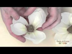 How to Make Magnolia Floral Wedding Centerpieces by Linda Peterson