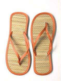 f04ff8f18908 Orange flip flops Bridesmaid Flip Flops