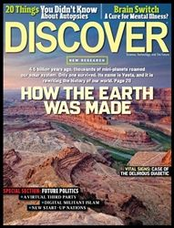Discover Magazine September 2012 on sale now at www.shipzoo.com Science And Technology News, Science News, Discover Magazine, Tech Magazines, On Today, Health, September, Xmas, Christmas
