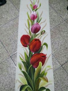Diy And Crafts, Arts And Crafts, Hand Embroidery Stitches, Flower Tattoo Designs, Tumblr Wallpaper, Decorative Tile, Fabric Painting, Diy Art, Printing On Fabric
