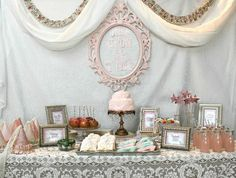 Once Upon a Time Happily Ever After Little girl birthday party. Ridiculously adorable.