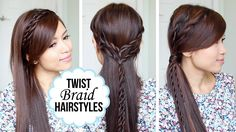 Quick and Easy Hairstyles with a Twist + Giveaway!