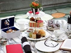 Check out Mad Hatter's Tea at the Sanderson on VisitBritain's LoveWall!