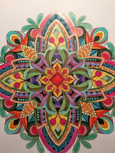 ColorIt Mandalas To Color Volume 1 Colorist Linda Allen Adultcoloring Coloringforadults