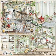 Treasures From The Sea Collection by Palvinka Designs   Digital Scrapbook @ at The Digichick