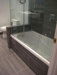 20 bathrooms with beautiful drop in tub designs rh pinterest com