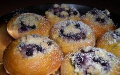 Borůvkové koláčky podle Jany Remkové