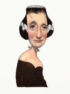 Aniversario de Mary Shelley. Londres, 30 de agosto de 1797 #MaryShelley #fernandovicente #Portrait