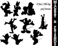 disney silhouette template - Google Search