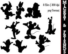 disney silhouette template - Google Search