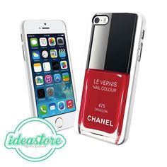 Chanel Nail Le Vernis Dragon  Design for iPhone 4, 4S, 5, 5C, 5S, iPod Touch 5, And Samsung Galaxy S3, S4, S5, Note 3 Case