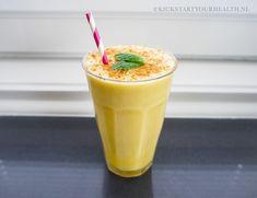 Romige mango smoothie