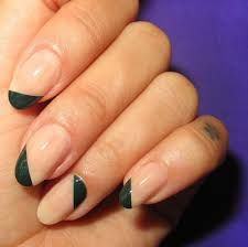 French Nail Polish طلاء أظافر فرنسي French Manicure Designs French Nails French Manicure
