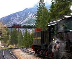 If you have a train enthusiast in your life (or if you are looking for a unique experience), you will want to hop aboard one of these 9 epic Colorado trains. Train Rides In Colorado, Road Trip To Colorado, Colorado Hiking, Boulder Colorado, Colorado Mountains, Rocky Mountains, Colorado Springs, Pagosa Springs, Hot Springs