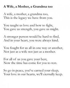 Quotes For Mothers Funeral. QuotesGram