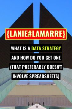 Your data analytics strategy speaks to the way you're collecting, storing, managing and using information in your business. Head over to learn more about how to be intentional about yours. // Lanie Lamarre - OMGrowth