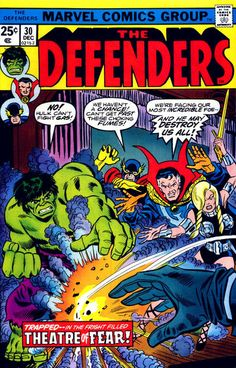 Defenders # 30 by Ron Wilson & Mike Esposito