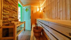 A sauna session offers many of the same health benefits as exercise - and you don't have to move a muscle.