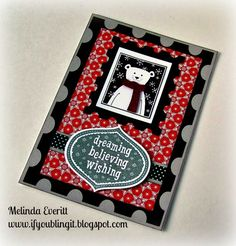 ADVERTISEMENTS I am in love with the Stamp of the month from Close to my Heart this month. There's no place like home for the holidays, and there's no time like the present to get started on holiday preparations! The Home for the Holidays stamp set is just what you've been wishing for: a set with …