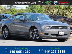 2011 Ford Mustang  63k miles $13,494 63950 miles 415-855-1310 Transmission: Automatic  #Ford #Mustang #used #cars #MarinLuxuryCars #CorteMadera #CA #tapcars