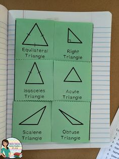 Foldable Friday: Types of Triangles