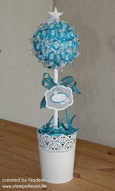 Tischdekoration Stampin Up Deko Dekoration Bonbon Tree Candy 004
