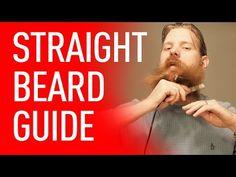 How To Straighten Your Beard   Beardbrand - YouTube