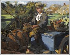 Stanhope Alexander Forbes (1857-1947), The Huckster.
